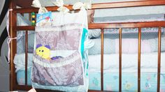 органайзер для детской кроватки своими руками