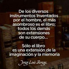 Los libros, el mejor instrumento.