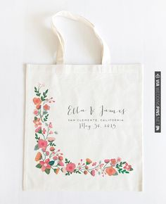 customized wedding tote from Wedding Chicks | CHECK OUT MORE IDEAS AT WEDDINGPINS.NET | #weddings #weddinggear #weddingshopping #shopping
