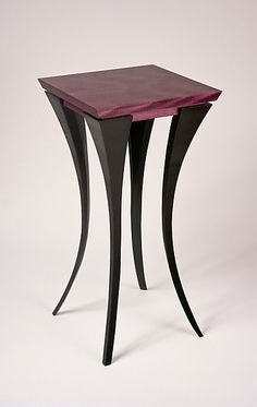 Violet Purpleheart Table from Artful Home.  Divine!