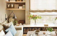 Saca partido en las estancias con la distribución de los muebles. No te pierdas los trucos para aprovechar cada rincón.
