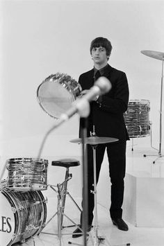 Ringo be like, they better not touch my drums!
