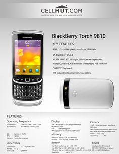 by Cellhut via Slideshare Blackberry Os, Blackberry Torch, Product Brochure, Berries, Phone, Telephone, Bury, Mobile Phones, Blackberry