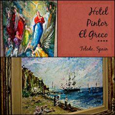 hotel pintor el greco 4 star rustic elegance in toledo spain dream hotels pinterest spain scenery and madrid - Rustic Hotel 2015