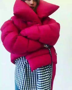 @marques_almeida puffer jacket ❤️