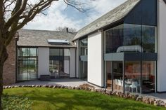 'This light and airy project is full of the little details that can make living spaces truly special'. - Day #architecture #england #glazing #rural #cantifix