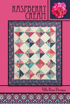 The quilt that the pattern makes is X This is a very easy fast quilt to make. This pattern uses squares. This is a beautiful Pattern from Villa Rosa Designs. Their patterns are easy to use & inexpensive to buy. Villa Rosa, Easy Quilt Patterns, Card Patterns, Quilting Ideas, Quilting Projects, Cat Fabric, Quilt Sizes, Easy Quilts, Scrappy Quilts