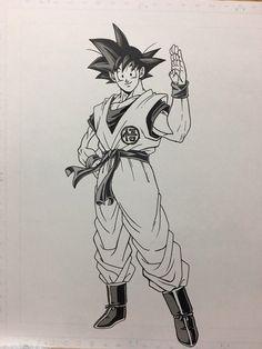Son Goku Base Form