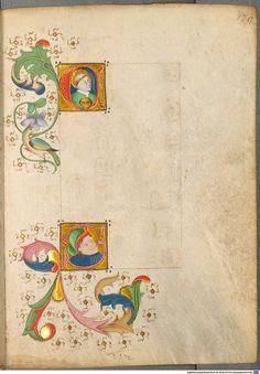 Spätgotisches Musterbuch des Stephan Schriber - BSB Cod.icon. 420, Urach, um 1494 [BSB-Hss Cod.icon. 420]