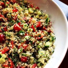 Delicious Yet Nutritious: Quinoa Tabbouleh