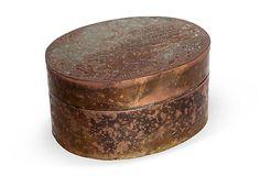 Copper Jewelry Box
