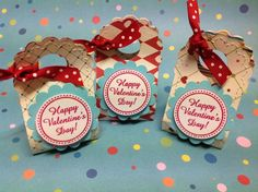 images of sizzix valentine crafts   SU Two tags die treats