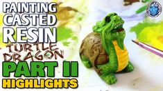 Resin Casting, Turtle, The Creator, Arts And Crafts, It Cast, Colours, Painting, Turtles, Tortoise