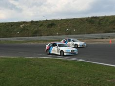 Slipstream and overtake at Circuit Park Zandvoort.. Classic stuff from the book!