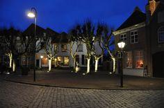 De markt Geertruidenberg Holland