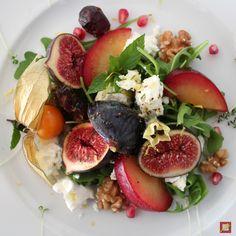 Farbenfroher Herbstsalat, ein Genuss, der Wochenhit im Chef's Handyman Food Blog