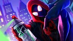 This HD wallpaper is about Movie, Spider-Man: Into The Spider-Verse, Miles Morales, Original wallpaper dimensions is file size is Gaming Wallpapers Hd, Cool Wallpapers For Computer, 4k Gaming Wallpaper, Pc Desktop Wallpaper, Wallpaper Notebook, Neon Wallpaper, Graphic Wallpaper, Avengers Wallpaper, Animes Wallpapers