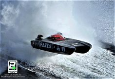 Powerboat in the Wash.