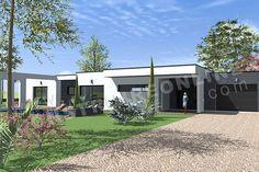 <div><b>Maison contemporaine de plain-pied de type 5</b></div><div>3 chambres - bureau - garage</div><div>Surface Habitable: 135m² / Surface annexe: 30m²</div>