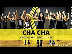 Who doesn't love a good cha cha every now and then? Check out these simple steps and get your cha cha on. REFIT is all about participation, not perfection. Zumba Warm Up, Dance Warm Up, Zumba Fitness, Dance Fitness, Zumba Videos, Workout Videos, Zumba For Beginners, Refit Revolution, Jennifer Lopez