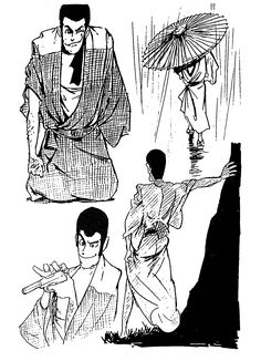 The Twelve Kingdoms, Ghost Sightings, Lupin The Third, Galactic Heroes, Cowboy Bebop, Kato, Jojo Bizarre, Jojo's Bizarre Adventure, Character Design