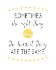 Sunday Encouragement: The Right Thing {5.4.14} - landeelu.com