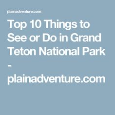 Great Places To Stay Near Yellowstone National Park Parks - Top 10 things to see in yellowstone national park