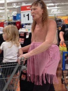 Funny Picture: Sexy Walmart Shopper