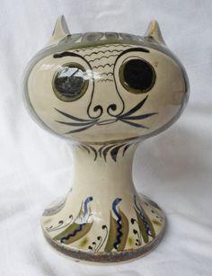 Large Vintage Ken Edwards TONALA Mexican art pottery El by JleCROW