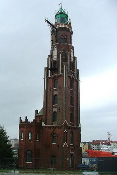 Bremerhaven Oberfeuer lighthouse, Germany
