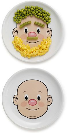 My kids would LOVE these plates