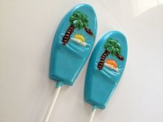 Surfboard Chocolate Lollipops Will Have You Longing to Catch a Wave - Foodista.com