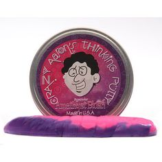 Crazy Aaron's Amethyst Blush - Heat Sensitive Hypercolor Thinking Putty 4 inch tin