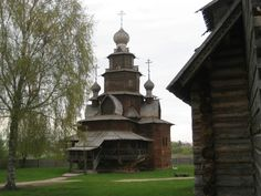 Wooden chapel Suzdal, Russia Suzdal still has many wooden homes.