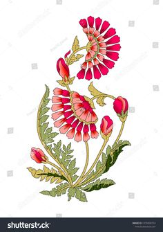 mughal flower motif Lifestyles, lifestyles and standard of living The interdependencies and networks produced by the inner integrity of production, … Folk Art Flowers, Botanical Flowers, Flower Art, Paint Designs, Designs To Draw, Pattern Art, Print Patterns, Art Deco Tattoo, Flower Motif