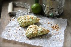 Key Lime Greek Yogurt Scone Recipe | If you love key lime recipes as much as you love Greek yogurt, then you will absolutely fawn over these scones.