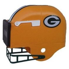 Green Bay Packers Football Helmet Mailbox by Private Label. $109.00. Purchase your officially licensed NFL Football Helmet Mailbox here and be the first on the block! It is USPS approved and has a one year guarantee on workmanship.