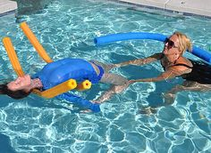 Aqua Kriya Yoga takes poses off of the mat and into the water. Teacher certification is offered Worldwide and in person by Aqua Yoga pioneer Camella Nair. Pool Workout, Aerobics Workout, Pelvic Floor Exercises, Swimming Exercises, Human Joints, Aquatic Therapy, School Holiday Activities, Yoga International, Floor Workouts