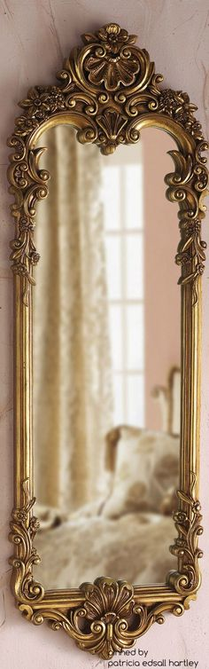 Beautiful Mirrors the 16 most beautiful mirrors ever | gold wall mirror, gold walls