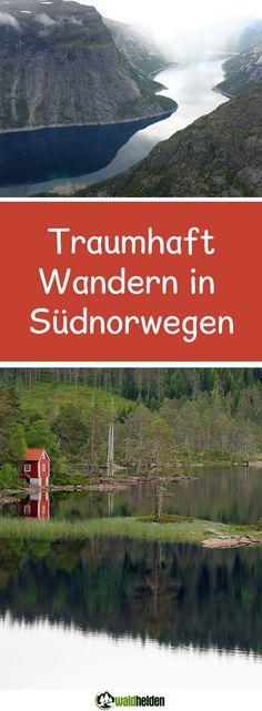 Wandern in Norwegen. Wunderbare Wanderrundreise im Süden von Norwegen.