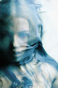 pic Woman mask fabric