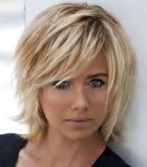 Image result for asymmetrical bob hairstyles for fine hair