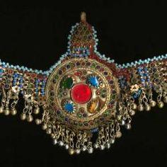 Tribal Belly Dance Jewelry Kuchi Headpiece for Tribal Belly Dance