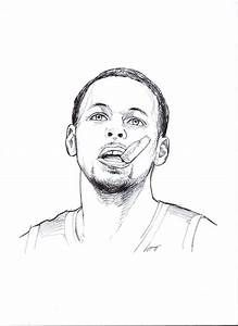 Nba Steph Curry Coloring Pages