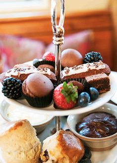Divine Chocolate Afternoon Tea