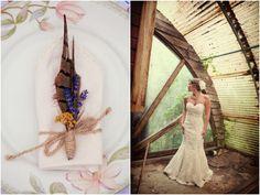 Rustic Louisiana Backyard Wedding by Amelia J. Moore Photography