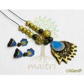 handmade-terracotta-jewelry-tsg313 Maitri Crafts www.maitricrafts.com https://www.facebook.com/maitricrafts.maitri