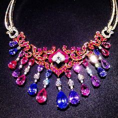 We are totally WOWED with Van Cleef & Arpels one-of-a-kind enchanteur necklace from the ball de legends collection! More jaw-dropping jewelry here: http://balharbourshops.com/must-haves/fine-jewelry