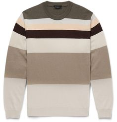 London Striped Cashmere Sweater | MR PORTER