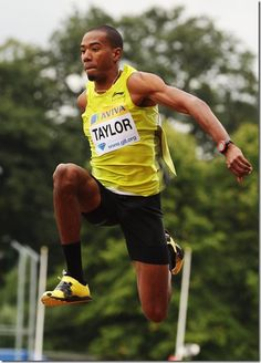 Christian Taylor and Progressive Training for Triple Jump